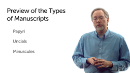 Manuscript Types and Discoveries
