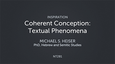 Coherent Conception: Textual Phenomena