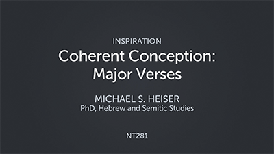 Coherent Conception: Major Verses