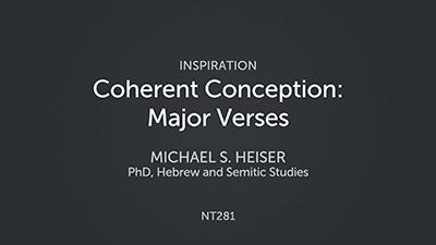 Coherent Conception: Major Verses
