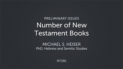 Number of New Testament Books
