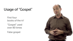 """The Meaning of """"Gospel"""""""
