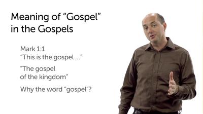 """""""Gospel"""" in the Gospels"""
