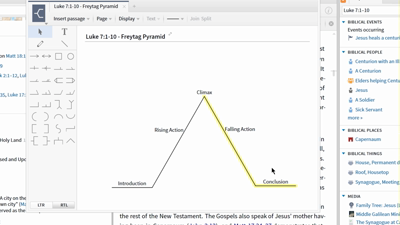 Doing Narrative Analysis with the Explorer and Sentence Diagramming Tools