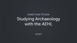 Studying Archaeology with The Archaeological Encyclopedia of the Holy Land