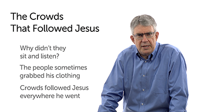 Why Such Large Crowds Followed Jesus