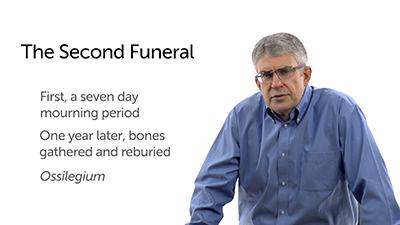 Jewish Burial Practices: Ossilegium