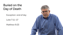 Jewish Burial Practices: Burial and Funeral