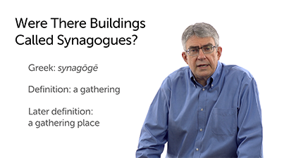 But Were There Synagogues?