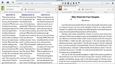 Researching Differences in the Gospels