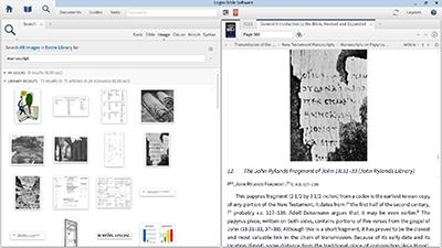 Finding Manuscripts in Logos