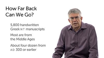 The Basics of New Testament Manuscripts