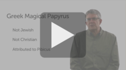 The Greek Magical Papyrus