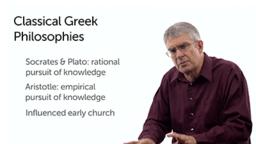 Graeco-Roman Philosophies