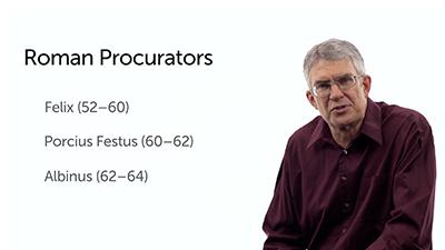 Roman Prefects and Procurators