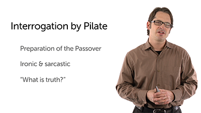 Pilate's Interrogation and Jesus' Kingdom
