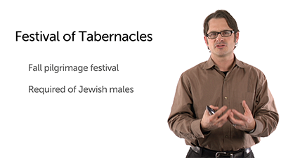 Jesus and the Festival of Tabernacles: Introduction