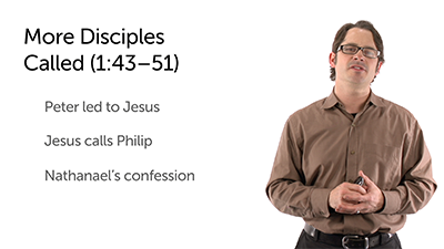 Jesus Calls His First Disciples