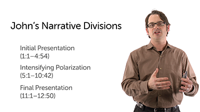 Major Narrative Divisions