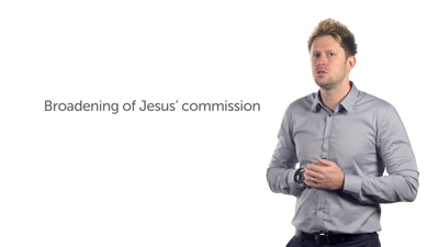 Broadening the List of Commissioned Disciples (Luke 9:51–10:20)