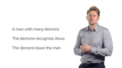 Jesus' Authority over Demons (Luke 8:26–39)
