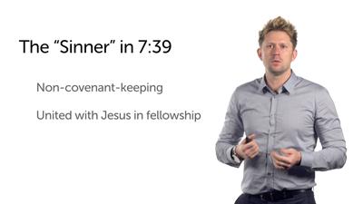 Sinful Woman Anoints Jesus' Feet (Luke 7:36–50)