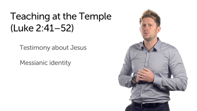 The Boy Jesus Teaching at the Temple (Luke 2:41–52)