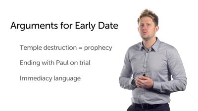 Date of Luke: Part 4