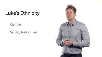 Luke's Ethnicity and Profession