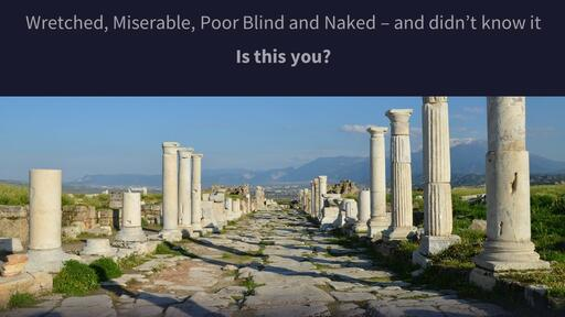 Laodicea, the Lukewarm Church
