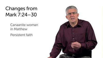 Faith of the Canaanite Woman (Matt 15:21–28)