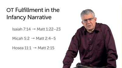 Fulfillment Formulas in the Infancy Narrative