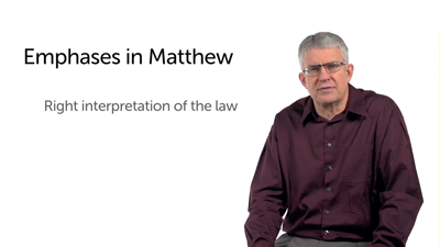 Matthew's Emphases