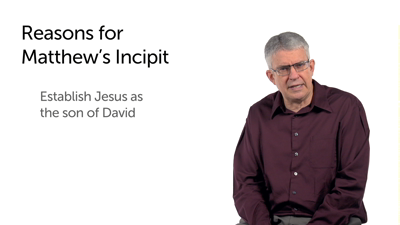 Incipit (Matt 1:1–17)