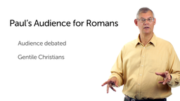 Paul's Audience for Romans
