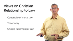 The Relationship of Believers to the Old Testament Law