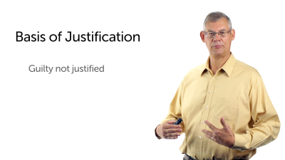 The Meaning and Basis of Justification