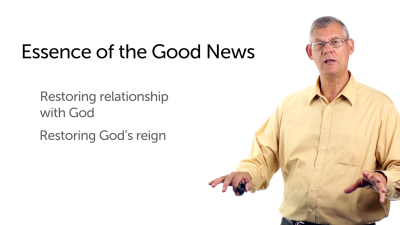 The Essence of the Good News