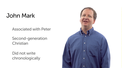 The Author of Mark