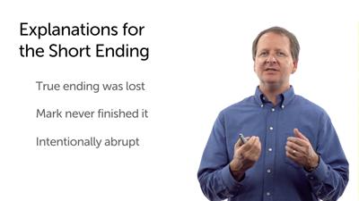 The Endings of Mark