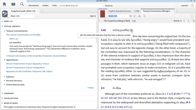 Studying Textual Variants in Mark 1:41 and 16:9–20