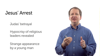 Arrest and Trial of Jesus; Peter's Denial