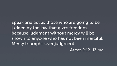 Partiality and the Poor (Jas 2:12–13)