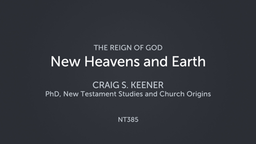 New Heavens and Earth