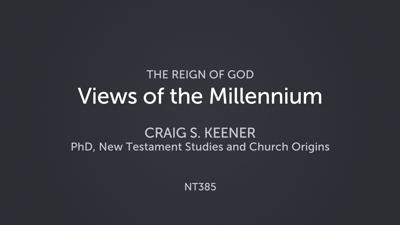 Views of the Millennium