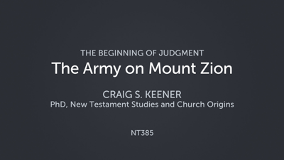The Army on Mount Zion