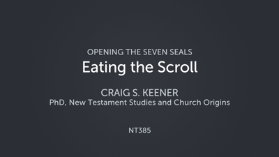 Eating the Scroll