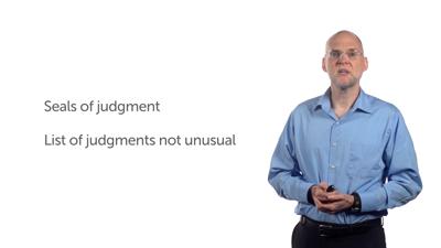 Seals of Judgment
