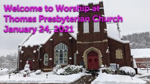 TPC Sunday Worship Service January 24, 2020
