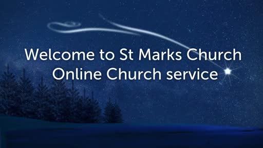 St Mark's Online service 24 Jan